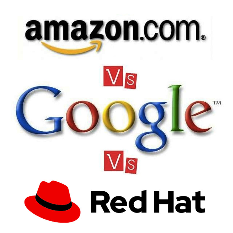 Cloud Computing: AWS vs. Google vs. Red Hat